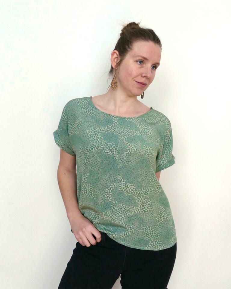 Kimono Tee Green - 54,95€